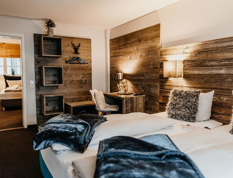 Hotelzimmer im Hotel Goldene Steig