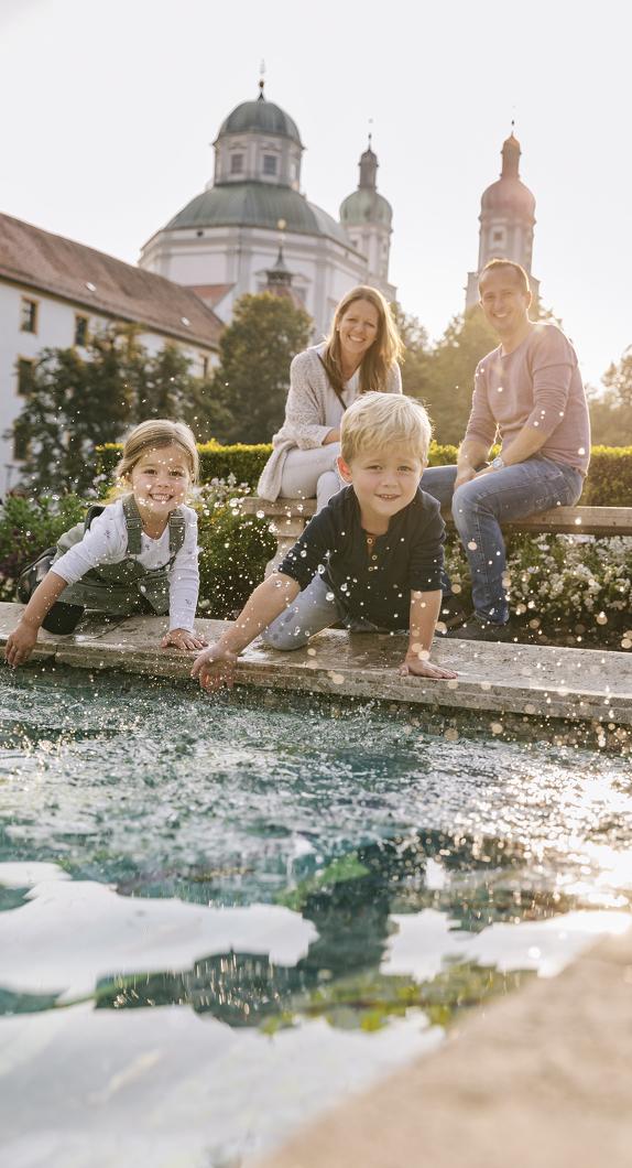 Planen Sie Ihren Familienurlaub in Kempten