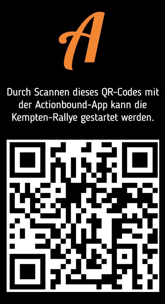 QR-Code zum Starten der Actionbound-Schnitzeljagd