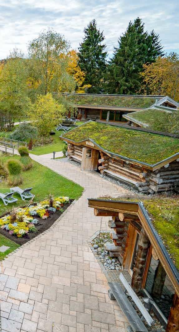 Gartenanlage der Saunawelt im CamboMare