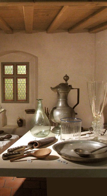 Das Burgenmuseum auf der Burghalde eine der Sehenswürdigkeiten in Kempten
