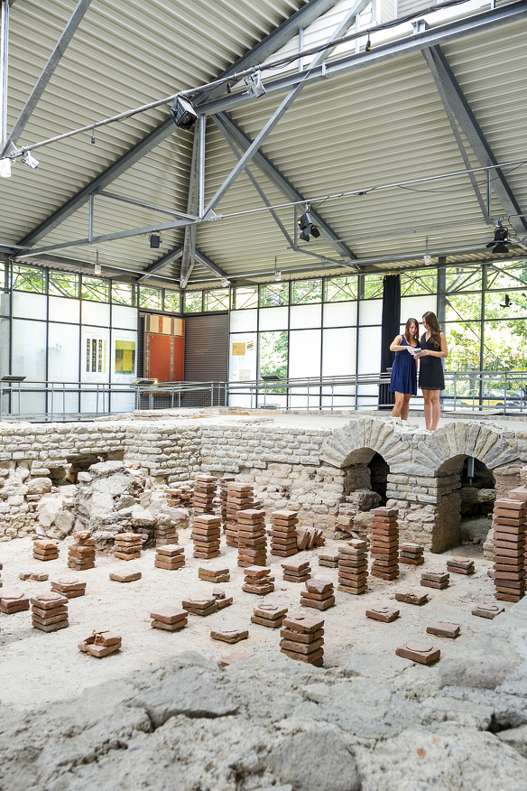 Die kleinen Thermen im Archäologischen Park Cambodunum