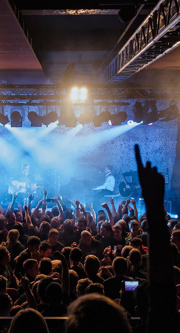 Konzert in der größten Veranstaltungshalle im Allgäu, der bigBOX ALLGÄU in Kempten