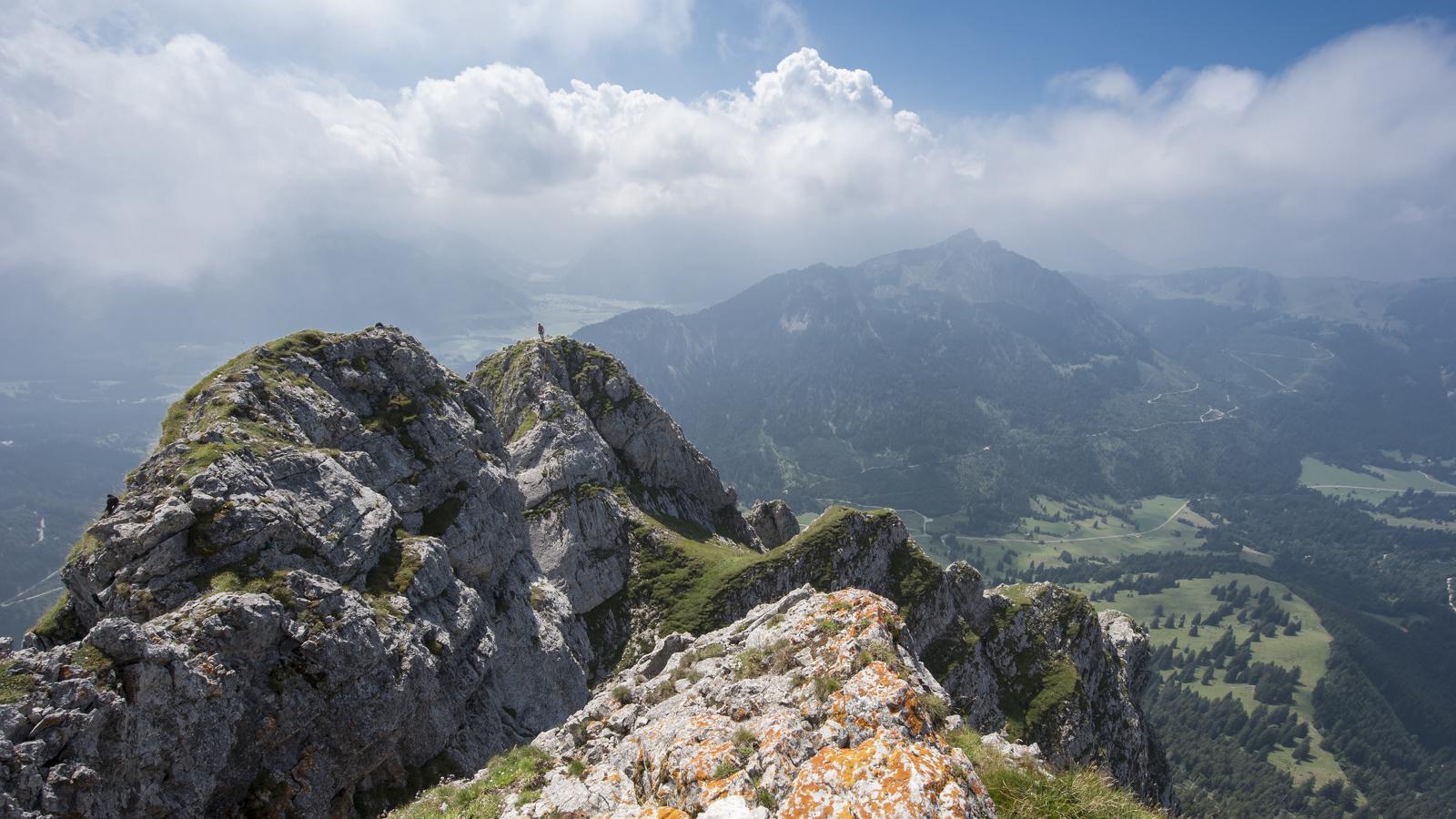 Gipfel des Aggensteins in Pfronten © Klaus-Peter Kappest, Germany