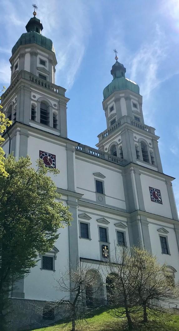 Außenansicht der Basilika St. Lorenz in Kempten