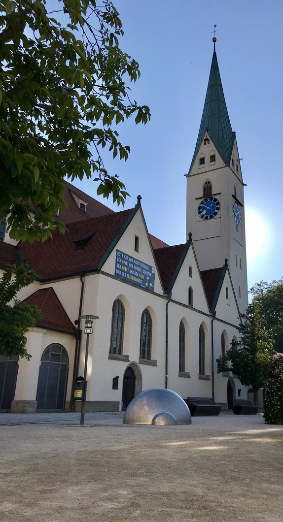 Die St.-Mang-Kirche ist eine der Sehenswürdigkeiten in Kempten