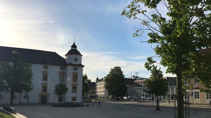 Der Hildegardplatz gehört zu den Lieblings-Plätzen in Kempten