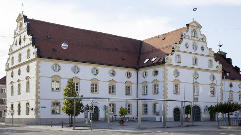 Das Kornhaus Kempten liegt in nahe des Hildegardplatzes