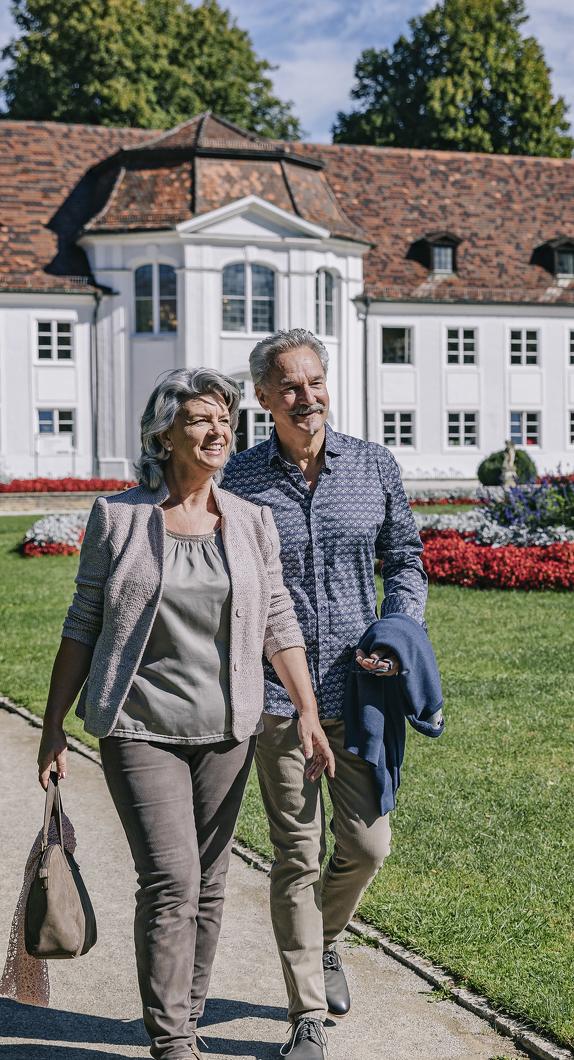 Den Kempten-Urlaub im Hofgarten mit Orangerie genießen