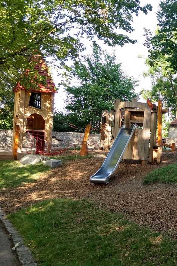 Der Spielplatz auf der Burghalde