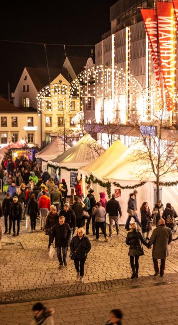 Die Kemptener Einkaufsnacht gehört zu den Veranstaltungshöhepunkten in Kempten
