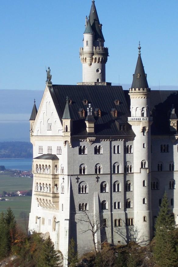 Blick auf das Schloss Neuschwanstein © Allgäu GmbH