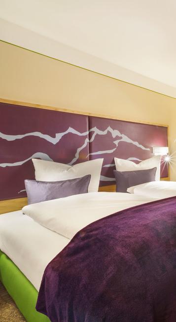 Ein Hotelzimmer im St. Raphael im Allgäu