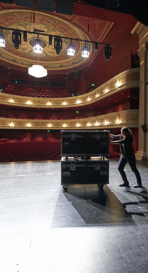 Innenansicht des Theater in Kempten © Allgäu GmbH, Marc Oeder
