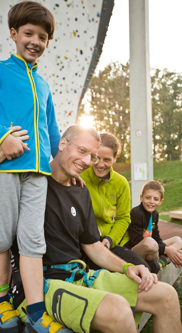 Aktiv in Kempten unter anderem im Kletter- und Boulderzentrum swoboda alpin