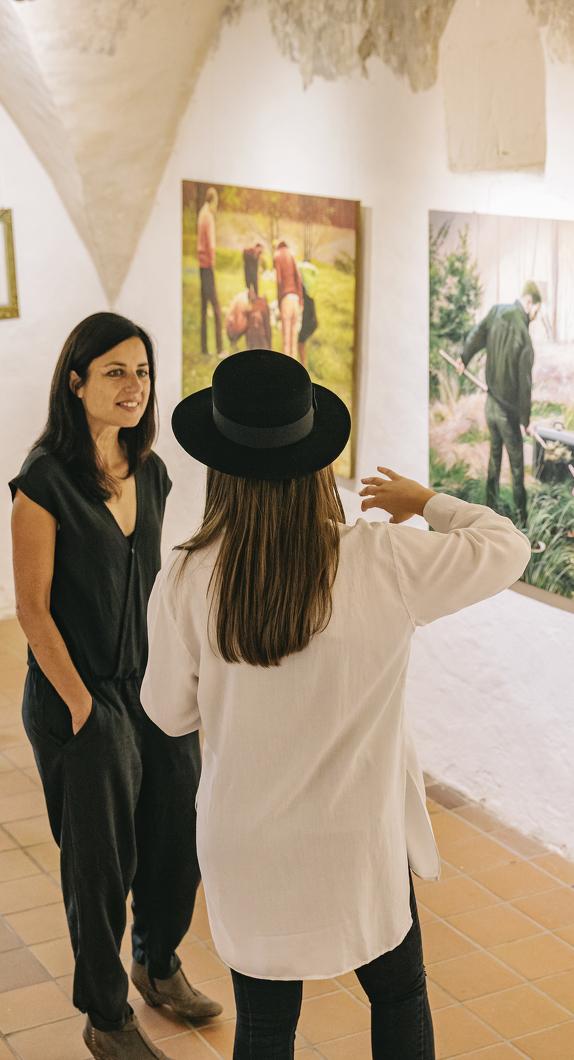 Erleben Sie die Ausstellungsvielfalt in Kempten unter anderem in der Galerie Kunstreich