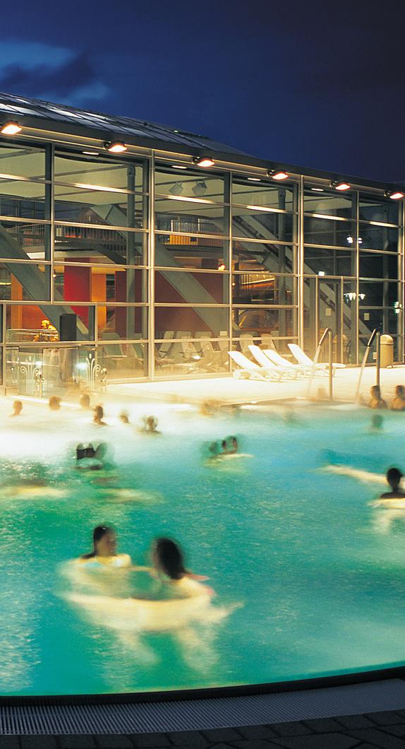 Erleben Sie Ihre Freizeit in Kempten unter anderem im Erlebnis- und Freizeitbad Cambomare
