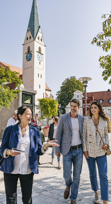 Genießen Sie eine Stadtführung in Ihrem Urlaub in Kempten