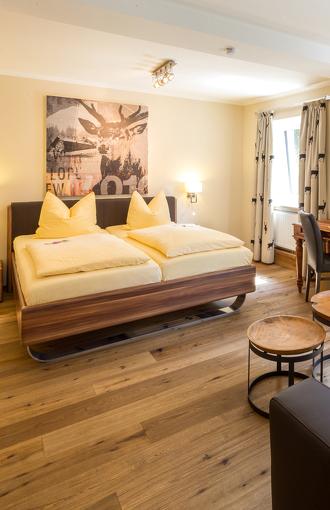 Hotelzimmer im Hotel Bayerischer Hof in Kempten