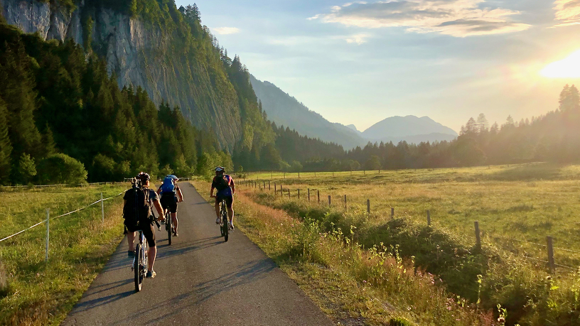 Eine geführte Radtour in die Umgebung von Kempten