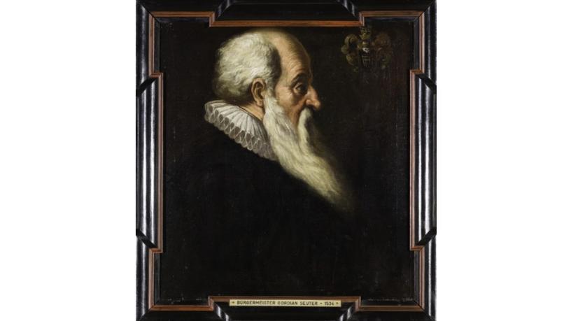 Gemaltes Portrait von Gordian Seuter