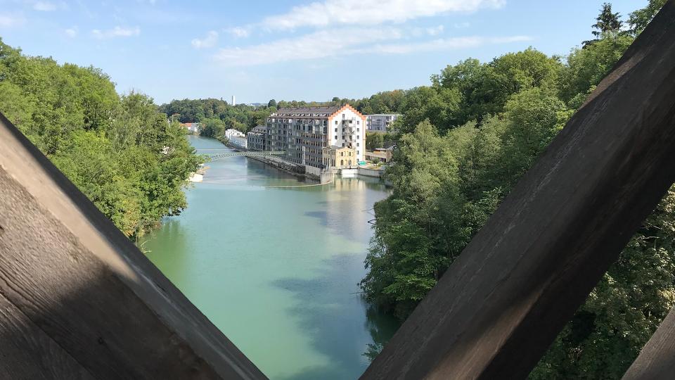 Iller-Blick von der König-Ludwig-Brücke