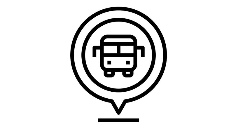 Icon Busumsteigestelle - Öffentliche Verkehrsmittel Kempten