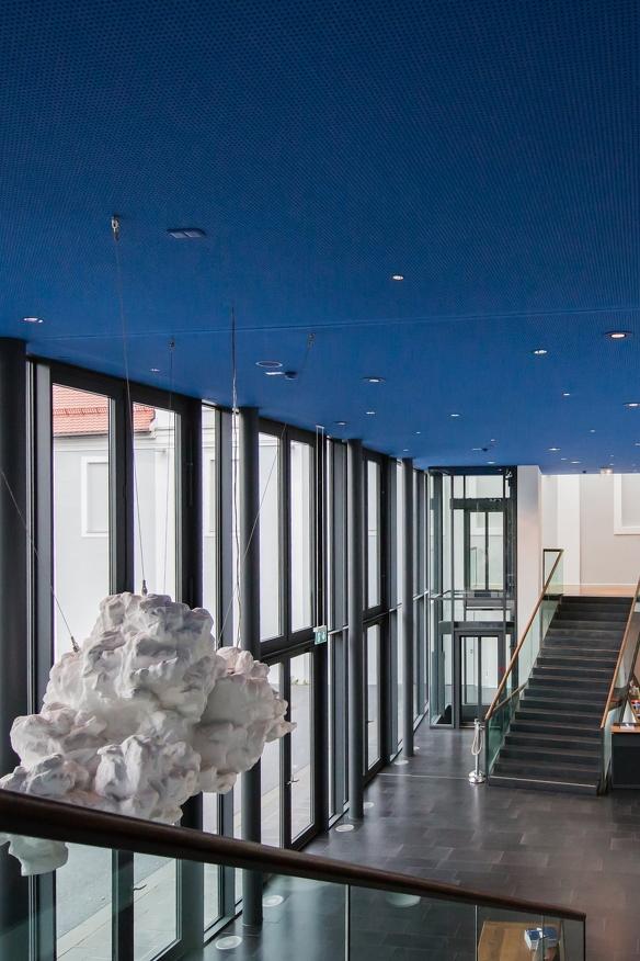 Innenansicht des Eingangsbereichs des Theater in Kempten