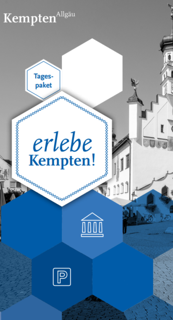 """Tagespaket """"erlebe Kempten"""" im Winter"""