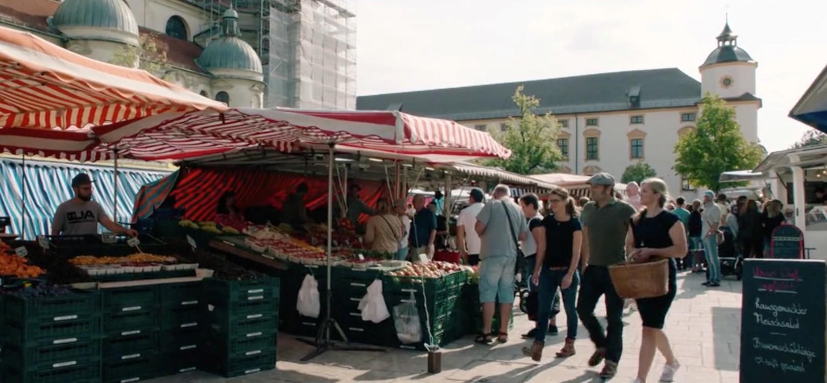 Wochenmarkt Kempten, Moni und Elisabeth - Lieblingsplätze Kempten