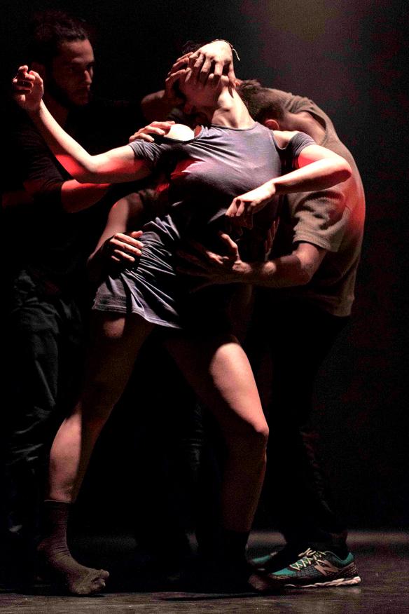 Eine Gruppe von Tänzern beim Kemptener TANZHerbst