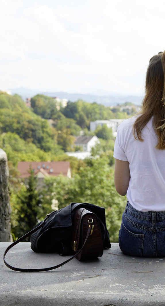 Einmaliger Ausblick auf Kempten von der Burghalde
