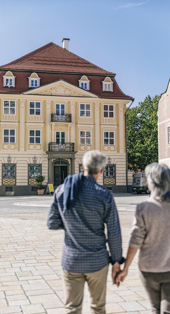 Außenansicht des Kempten-Museum im Zumsteinhaus