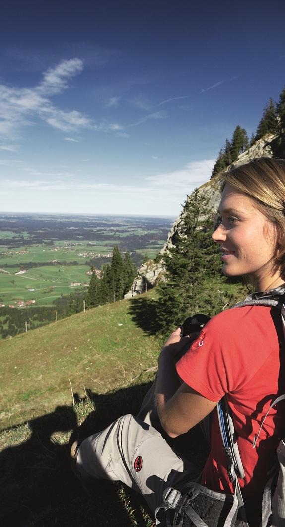 Blick von der Alpspitze in Nesselwang im Allgäu ©Allgäu GmbH, Marc Oeder