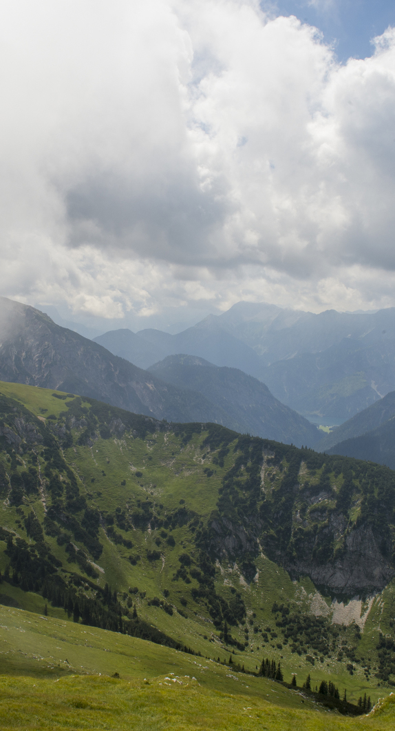 Blick in die Ammergauer Alpen im Allgäu © Allgäu GmbH, Klaus-Peter Kappest