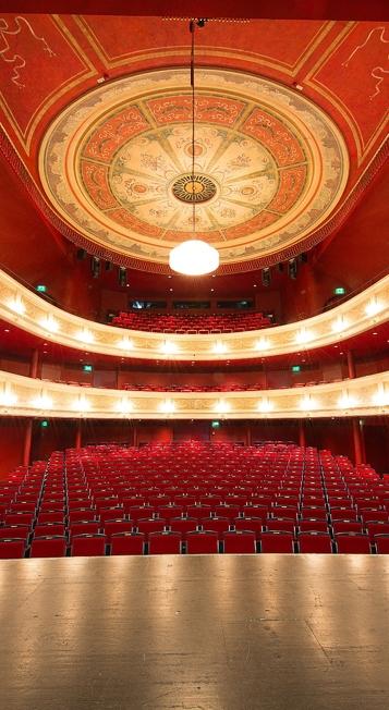 Theatersaal im Theater in Kempten
