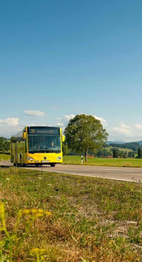 Informationen zu den öffentlichen Verkehrsmitteln in Kempten