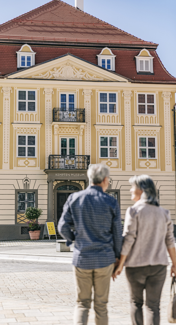 Außenansicht vom Kempten-Museum im Zumsteinhaus in Kempten