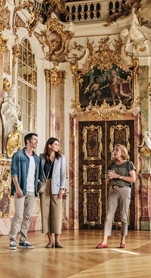 Besuch in den Prunkräumen der Residenz