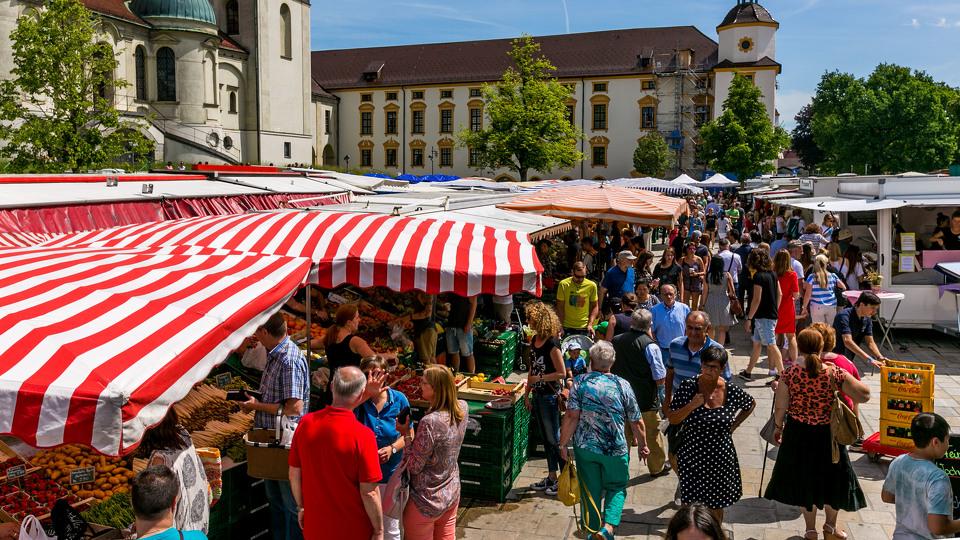 Wochenmarkt Kempten