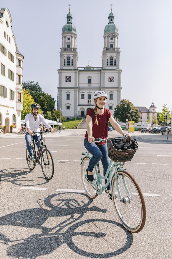 Leihen Sie sich ein Fahrrad in Kempten aus