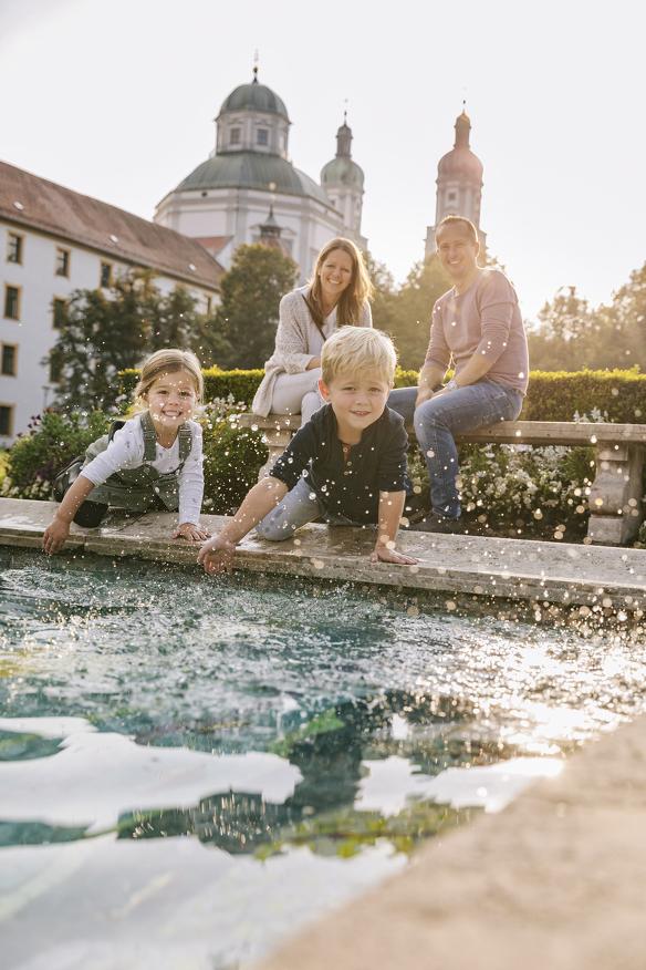 Kempten als Urlaubsziel für Familien