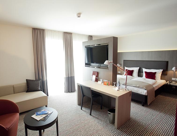 Zimmer bigBOX ALLGÄU Hotel