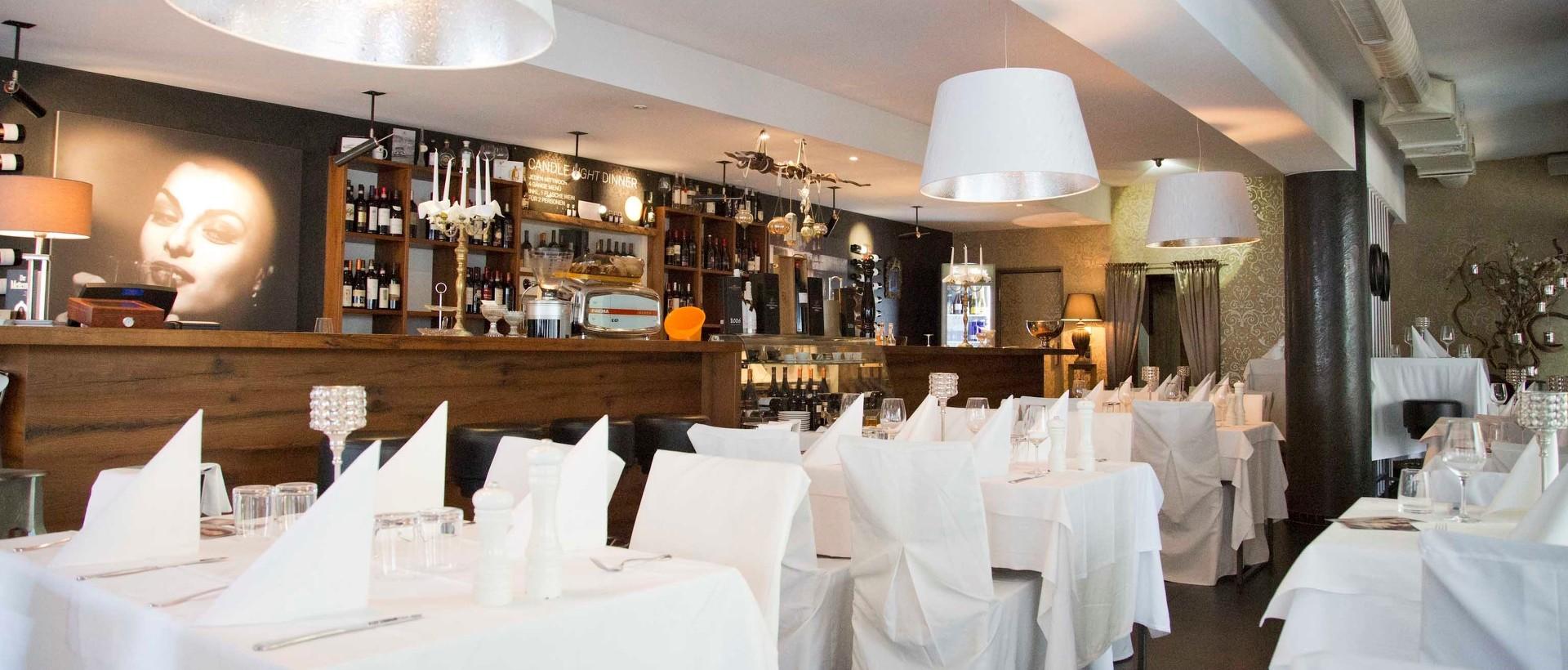 Italienische Eleganz und Kulinarik im Restaurant Vinum