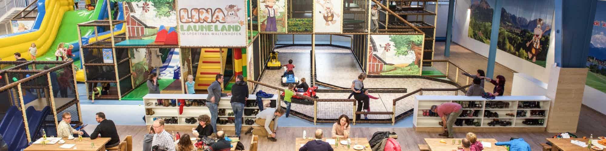 Spiel und Spaß für Groß und Klein im Lina Laune Land
