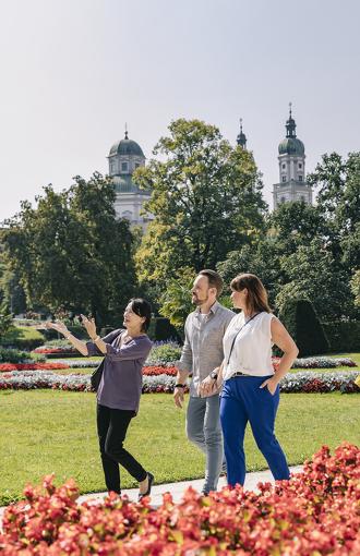 Stadtführung durch den Hofgarten