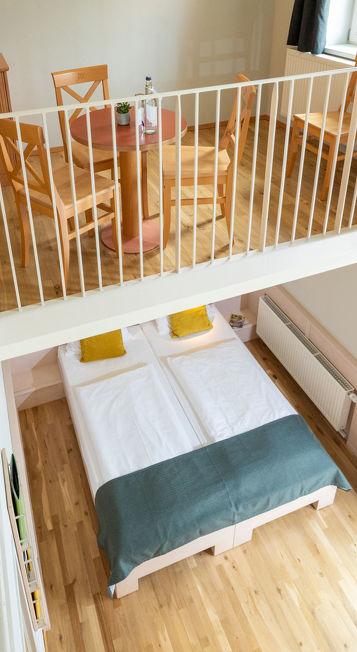 Beispielzimmer JUFA Kempten im Allgäu Familienresort