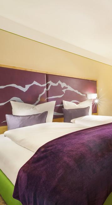 Beispielzimmer im St. Raphael im Allgäu Hotel